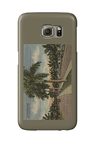 Ft. Lauderdale, Florida - Las Olas Blvd. (Galaxy S6 Cell Phone Case, Slim Barely There)