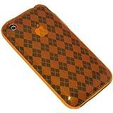 Amzer Luxe Argyle Skin Coque à motif jacquard pour iPhone 3G / iPhone 3G S Orange...