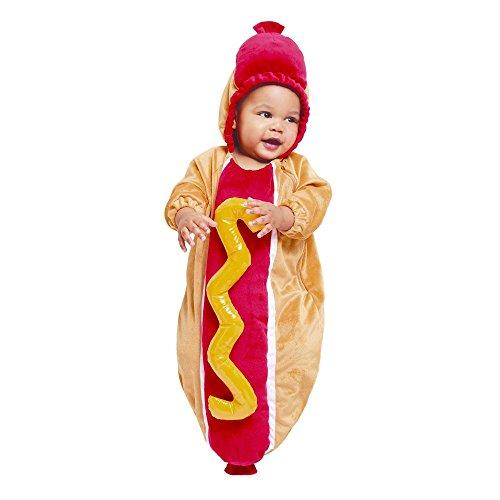 Baby Plüsch Hot Dog Wimpelkette Kostüm