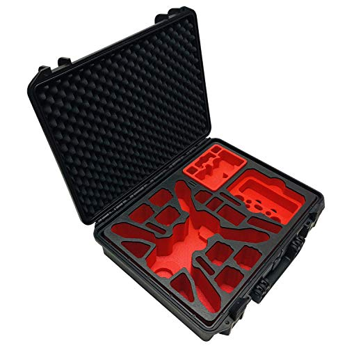 """Profi Outdoor Case \""""RTF Enterprise Edition\"""" für den DJI Mavic 2 Enterprise Zoom/Dual \""""Laden im Koffer\"""" mit Smart Controller und viel Zubehör, IP67 wasserdicht"""