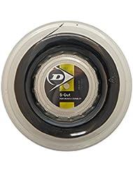 Dunlop S-Gut Blk 16G Reel S-Gut Bobine de cordage Noir 200 m