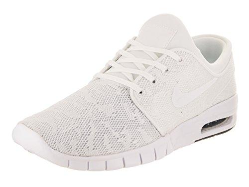 Nike Herren Stefan Janoski Max Low-top Elfenbein (whitewhiteobsidian 114)