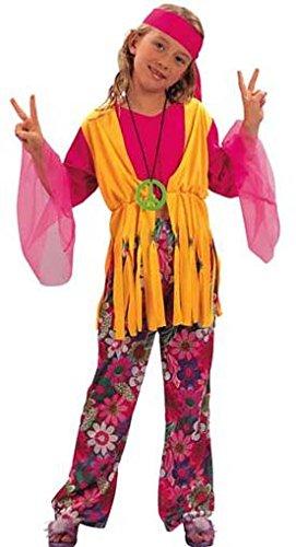 Fyasa 701358-t03Hippie Girl Kostüm, ()