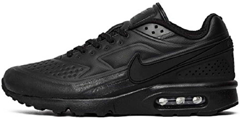 Nike 858966 001 Air Max BW Ultra SE Premium Prm Triple Black Pack Sneaker Schwarz