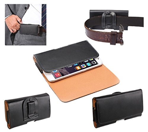 dfv-mobile-case-belt-clip-synthetic-leather-horizontal-smooth-for-wiko-u-feel-prime-black