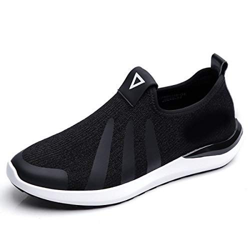 Grrong Grrong Grrong Fashion Trend Chaussures Chaussures Respirant Noir Loisirs 1a4376