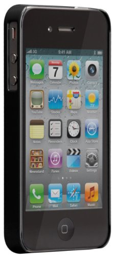 Case-Mate - Barely There Hard Case, Schale für iPhone 4 / iPhone 4S - electric grün Schwarz