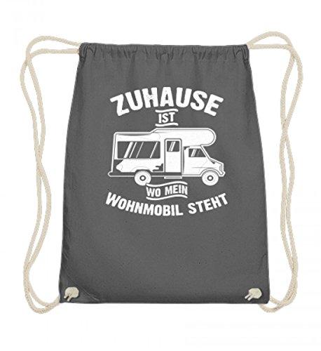 Hochwertige Baumwoll Gymsac - Camping Camper Wohnwagen Wohnmobil Campingplatz Zuhause Geschenk