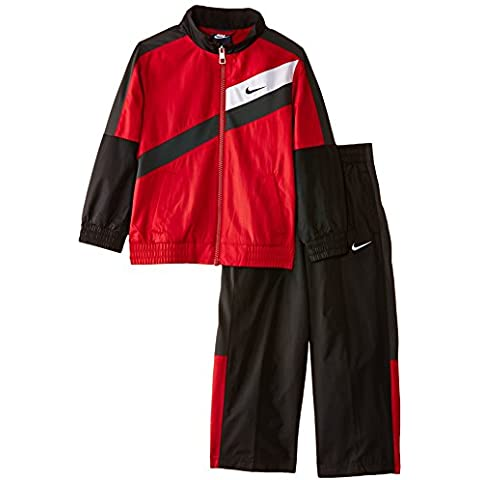 Nike T45 W Sl Warm Up LK - Chándal para niño, color rojo, talla XL