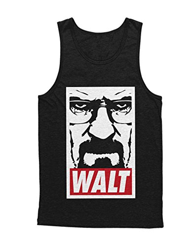 Tank-Top Cook Walter White Jesse Pinkman Crystal Meth Hype C980020 Schwarz XS (Breaking Bad Crystal Meth Kostüm)