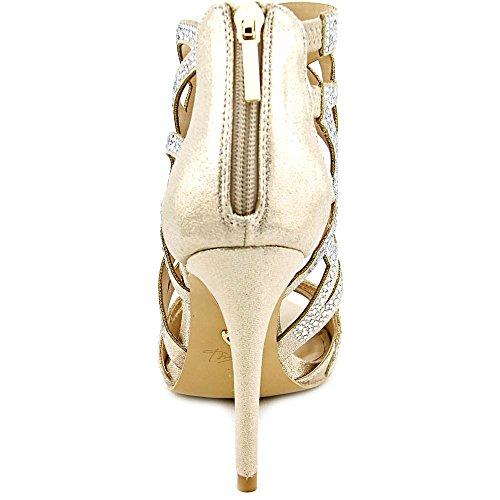 Thalia Sodi Serena Toile Sandales Champagne