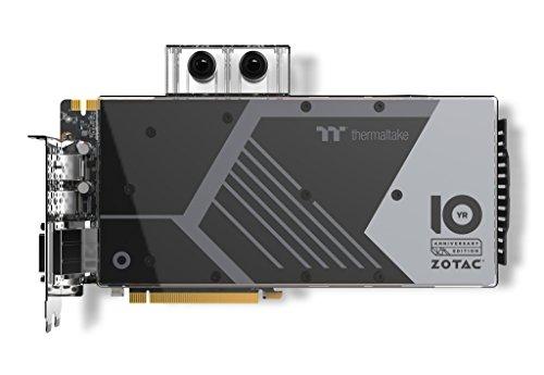 ZOTAC GeForce GTX 1080 ArcticStorm Thermaltake 10 Year Anniversary Edition 8GB GDDR5X VR Ready Gaming Graphics Card (ZT-P10800G-30P)