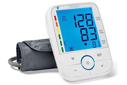 Silvercrest Oberarm Blutdruckmessgerät SBM67