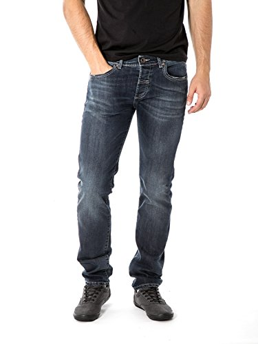 FIFTY FOUR - Homme jeans super slim fit staff j859 Denim Foncé