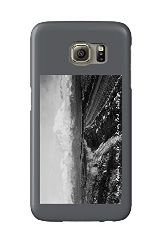 Alaska - Mt McKinley National Park View of the Mountain Photo (Galaxy S6 Cell Phone Case, Slim Barely There) -