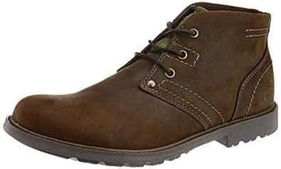 Cat Men's Carsen Mid Tan Boat Shoes - 11 UK