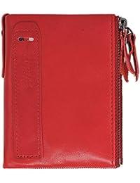 7b3cf013c1e7 Hibate Men Leather Wallet RFID Blocking Men s Wallets Credit Card Holder  Coin Pocket Purse