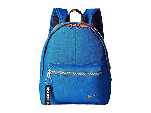 Nike y Classic Base Bkpk Mochila Unisex, Multicolor (Blue Jay /Total Orange), S