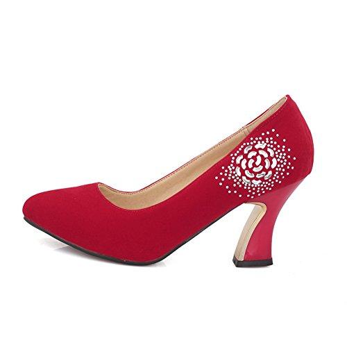 1TO9, Scarpe col tacco donna Red