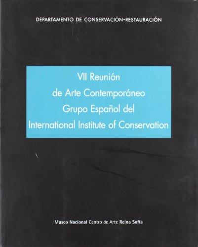 VII reunión del grupo de arte contemporáneo del GEIIC