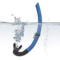 Buceo de respiración Tubo de esnórquel húmedo respiración tubo subacuático Accesorios de natación
