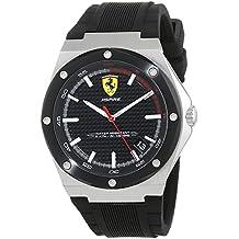 Scuderia Ferrari Reloj Analógico para Hombre de Cuarzo con Correa en Silicona 830529