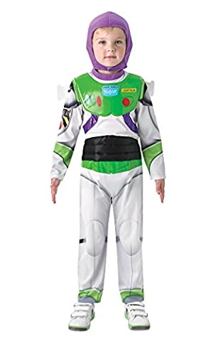 Rubie's Official Child's Disney Toy Story Deluxe Buzz Lightyear - (Deluxe Bambino Buzz Lightyear Costume)