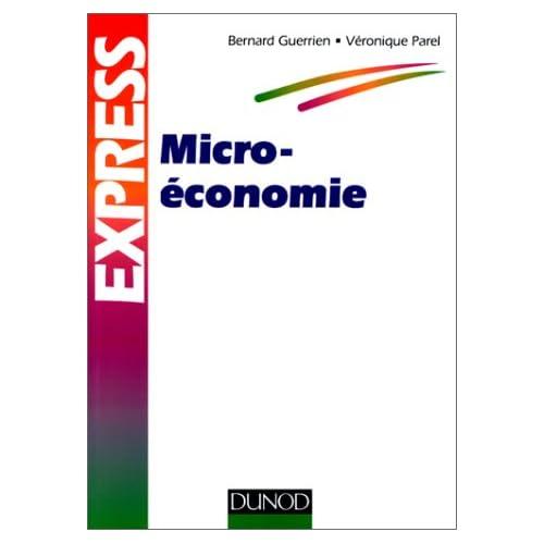 Microéconomie