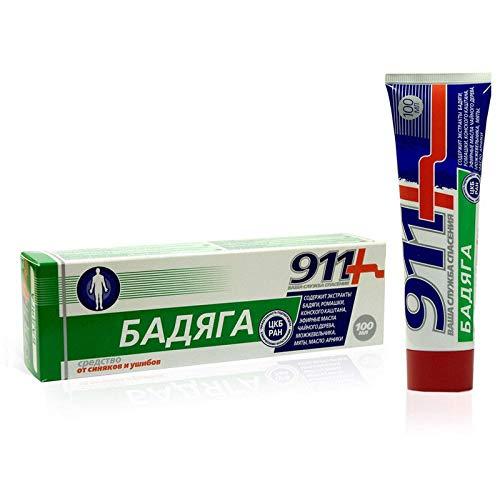 Glucosamin Creme Für Den Körper (911+ Badyaga Gel gegen Prellungen und Hämatomen für den ganzen Körper Бадяга)