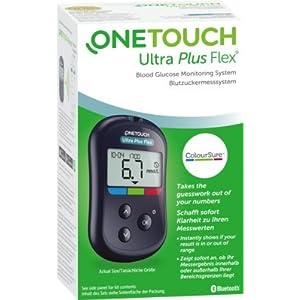 One Touch Ultra Plus Flex Blutzuckermessgerät mmol/L, 1 St