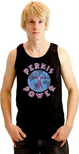 Heavyweights Tony Perkis Power Camp Hope schwarz Erwachsene Sleeveless Tank Top (XX-Large) (Heavyweight Top Baumwolle Tank)