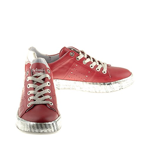 Shoes Di B153 Multicolore Innamorare Pelle In Vera Briscola Felmini Woman Sneakers 7Ytwq
