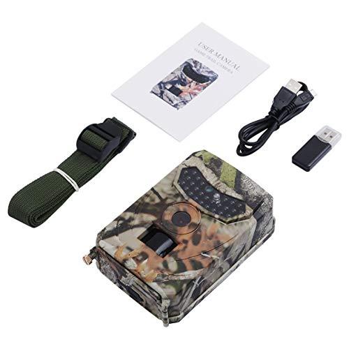 Tellaboull for PR-100 12MP, Versione Notturna IR, osservatore della Fauna Selvatica, registratore di Caccia a LED, Fotocamera Selvaggia Impermeabile, Telecamera di sorveglianza Wild-Vision