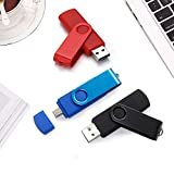2 IN 1 32gb USB-Sticks OTG Flash Drive 32gb USB Flash Drive 32gb Speicherstick 32gb USB-Flash-Laufwerk 32gb Pen Drive 32gb Feder-Antrieb (32GB*3PCS)