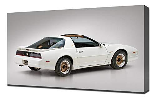 Lilarama 1989-Pontiac-Firebird-Trans-Am-Turbo-V2-1080 - Art Leinwandbild - Kunstdrucke - Gemälde Wandbilder