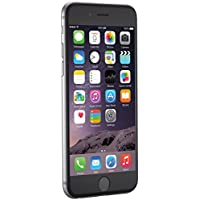 "Apple iPhone 6, 4,7"" Display, SIM-Free, 64 GB, 2014, Space Grau (Generalüberholt)"