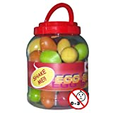Stagg EGG-BOX1 OEufs Maracas en plastique