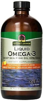 Nature's Answer Liquid-Omega 3-Epa/Dha-Fish Oil - (Platinum Liquid) 16 Ounces from Nature's Answer
