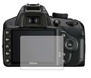 3 x Films de protection d'écran pour Nikon D3200 - Résistant aux éraflures / Display Protective Film