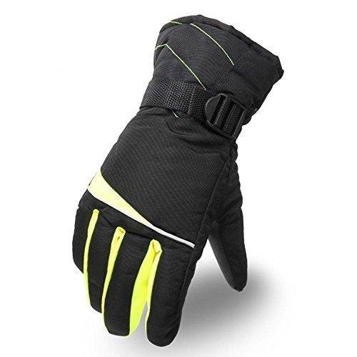 HZJ Winter New Man Taslan Cross Border Handschuhe warm Ski Riding Handschuhe, ()