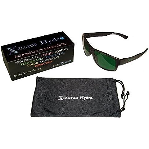 PREMIUM Grade crecer habitación Gafas Interior/exterior hidroponía anti UV, reflejo, Glare Protección de óptico (Diodo Emisor de Luz