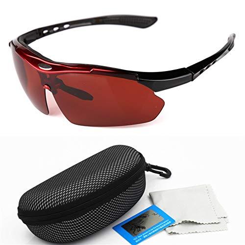 FELICIOO Nachtangeln HD Polarisierte Brille, Sanddichte Reitbrille (Farbe : C)