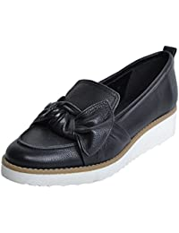 Red Tape Women's Leather Loafers And Moccasins