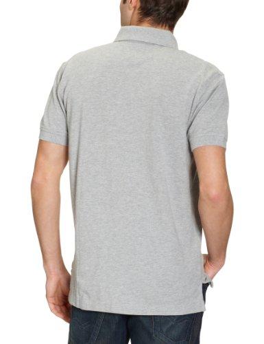 Tommy Hilfiger Core / New Tommy Knit S/S Rf, Short Sleeve Uomo Grigio (Grau (004 Grey Heather))