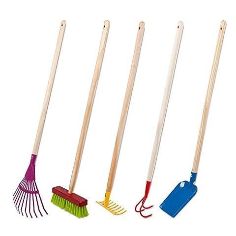 Windhager 93169 Jeu de 5 accessoires de jardinage pour enfant