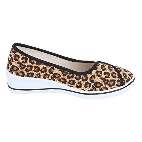 Ital-Design - Pantofole Donna Multicolore (Leo Multi)