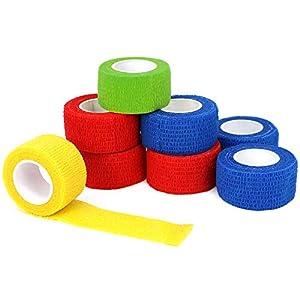 COM-FOUR® Elastik Bandage Haftbandage Fixierbinde
