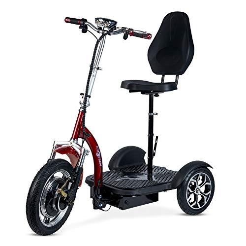 ECOXTREM Triciclo eléctrico para Movilidad recudida con Silla, cómodo y Seguro.