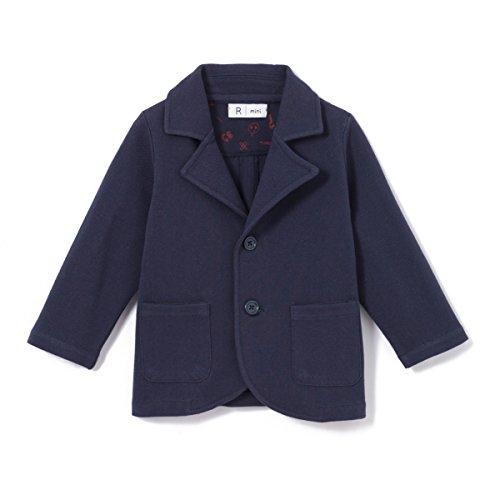 La redoute collections bambino giacca blazer senza collo taglia 86 blu