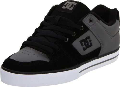 dc-pure-lowtop-schuhe-eur-43-charcoal-black